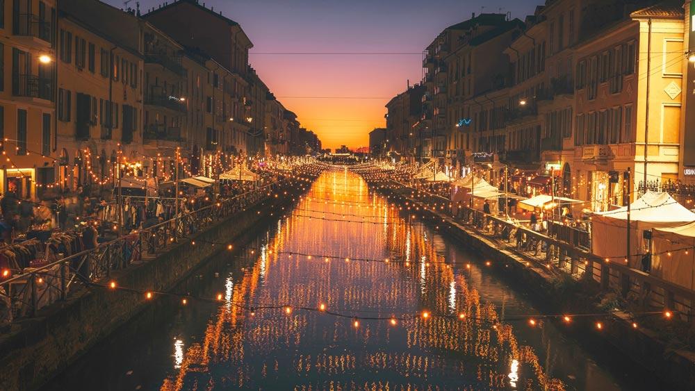 Где погулять вечером в Милане вдвоем