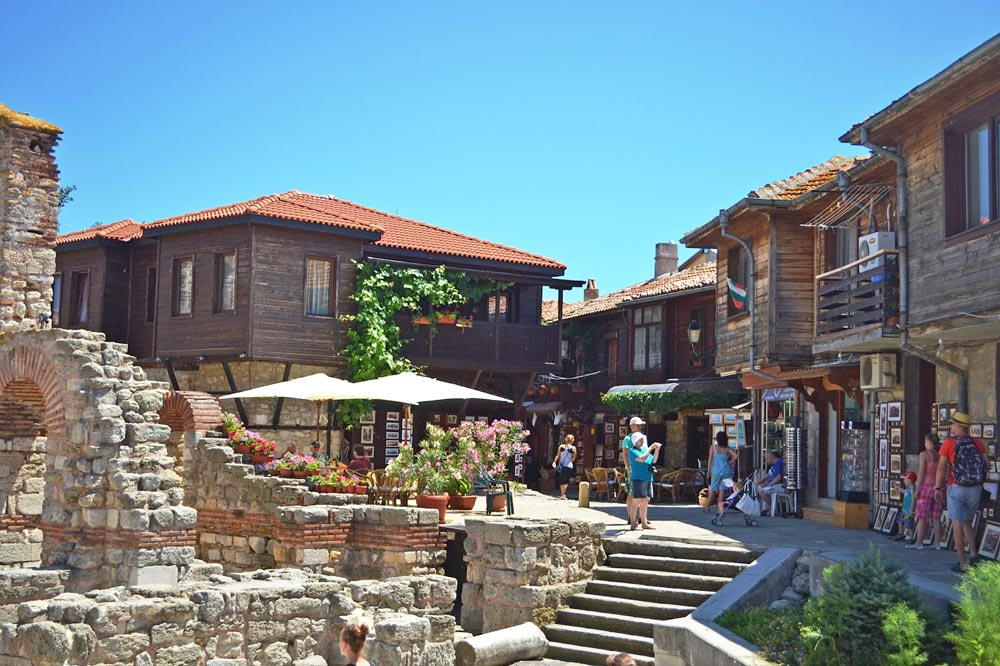 Фото города Несебр