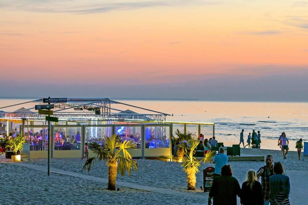 пляжный отдых в Юрмале