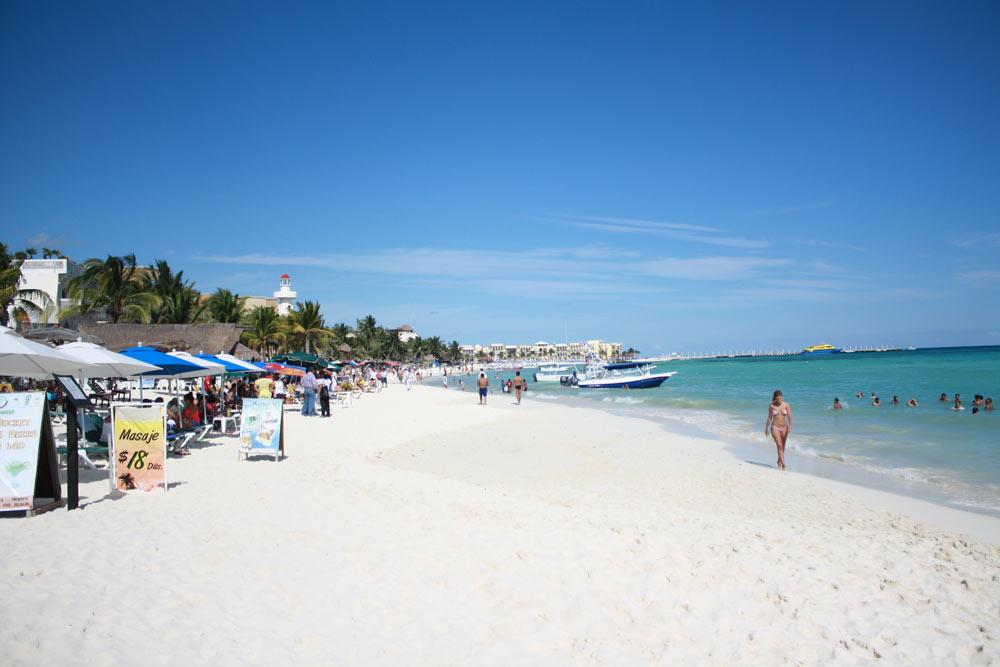 Лучшие пляжи Плая-дель-Кармен