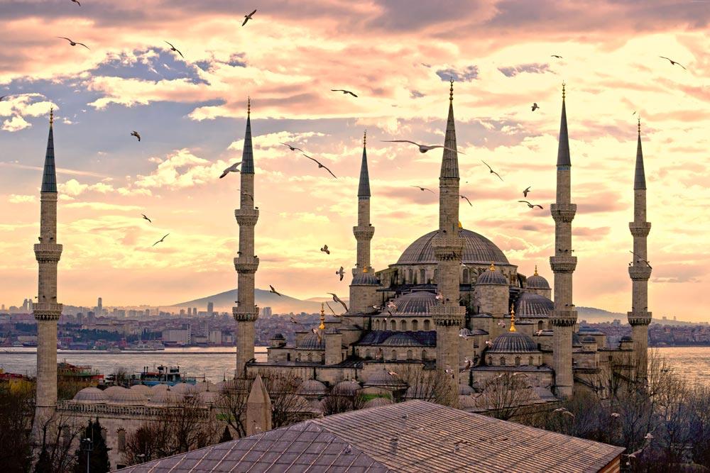 Голубая мечеть и краткое описание