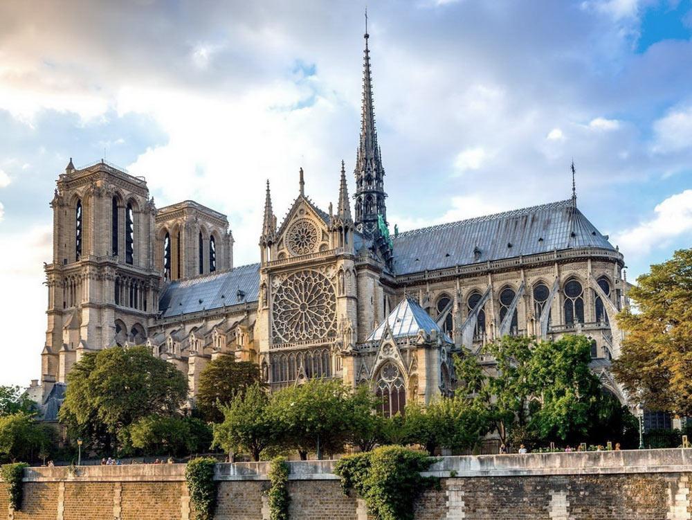 архитектура столицы Франции