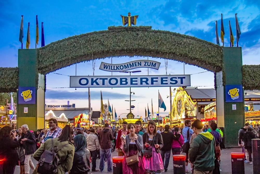 Пивной фестиваль в германии