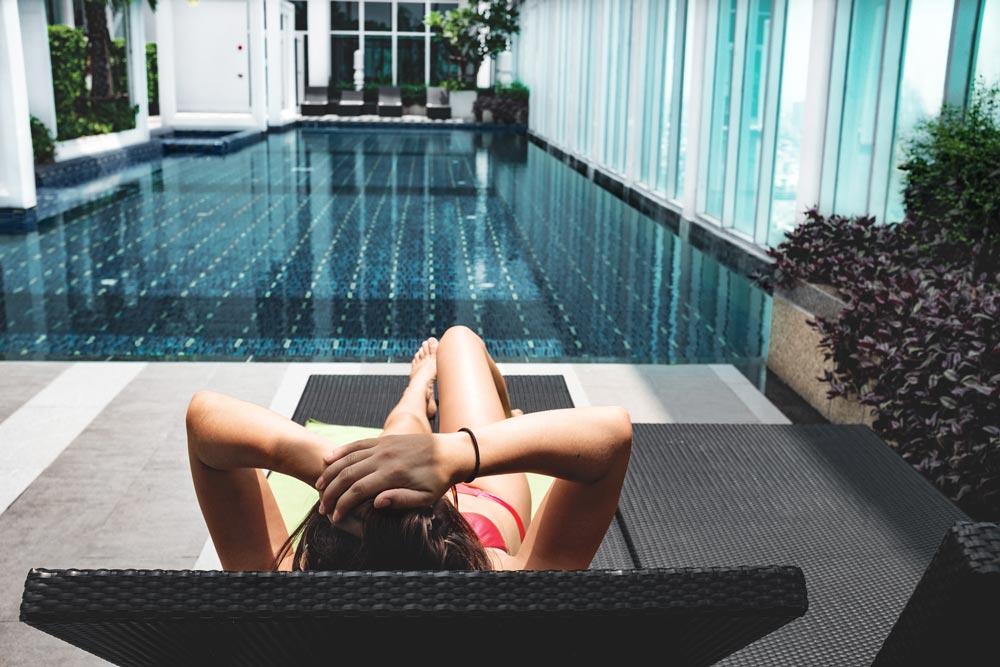 пляжные гостиницы с бассейном