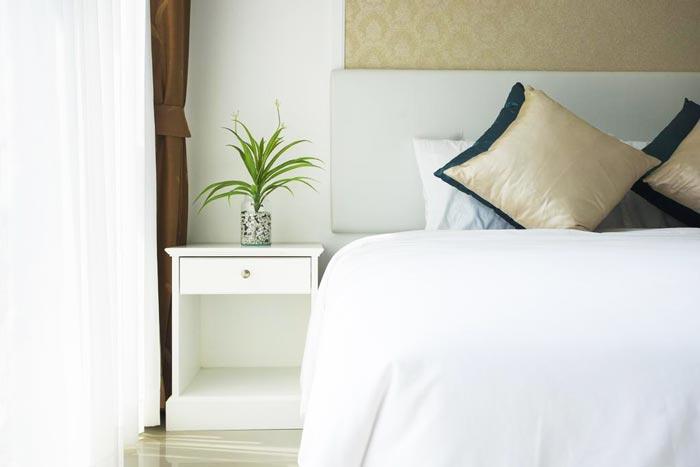 постель в номере