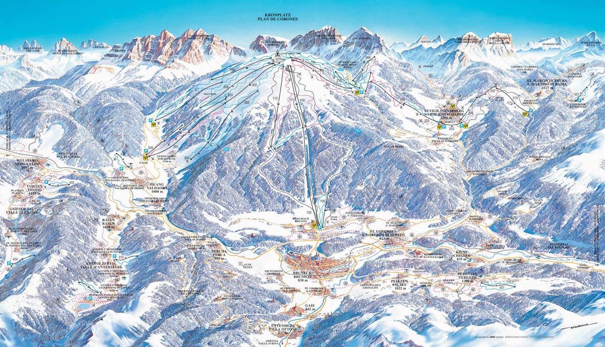 куда поехать зимой в горы