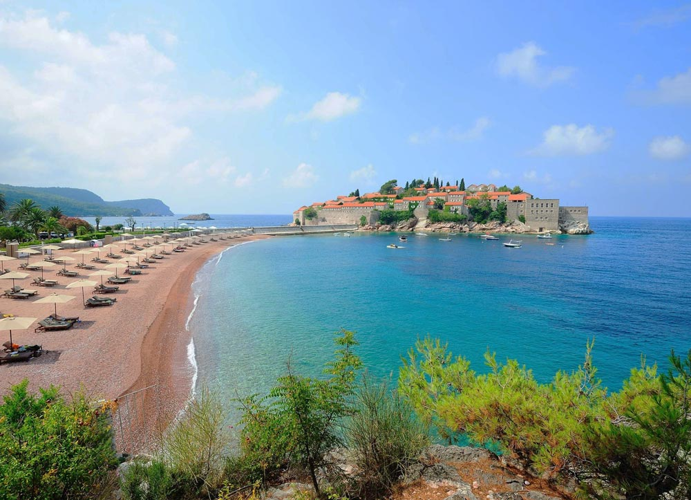 Курорты Черногории с песчаными пляжами