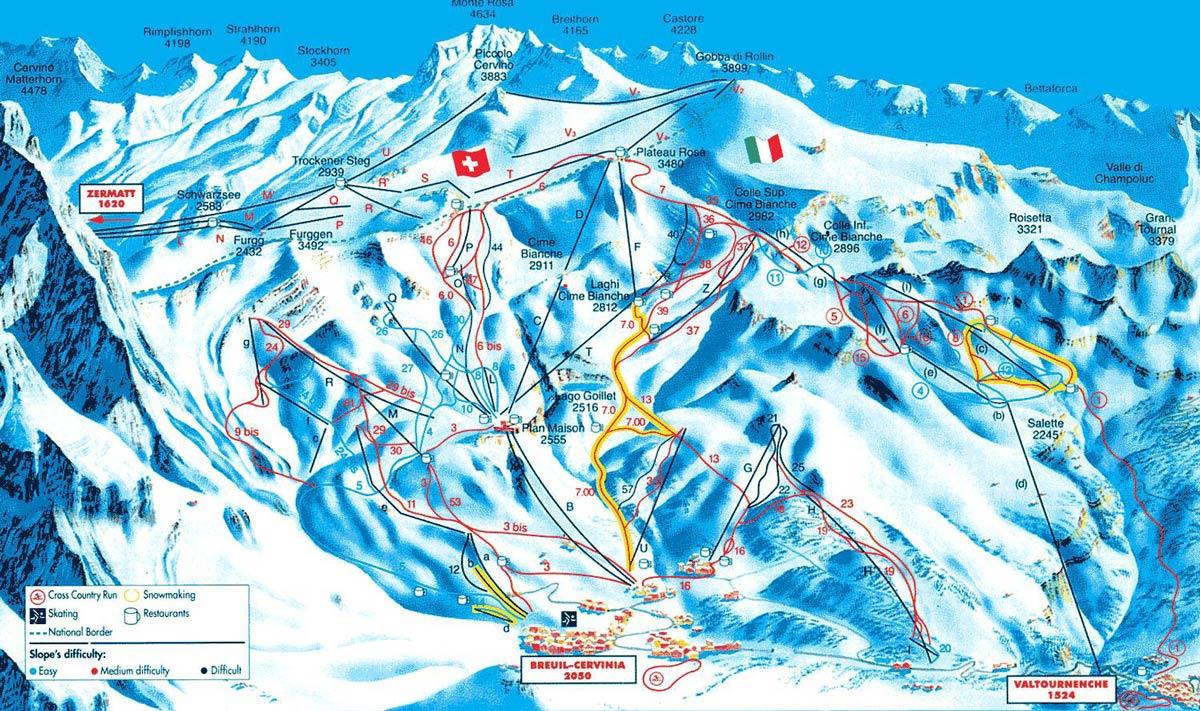 стоимость отдыха в горах Италии зимой