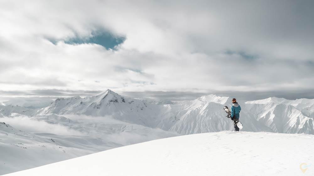 Куда поехать в Грузию кататься на лыжах