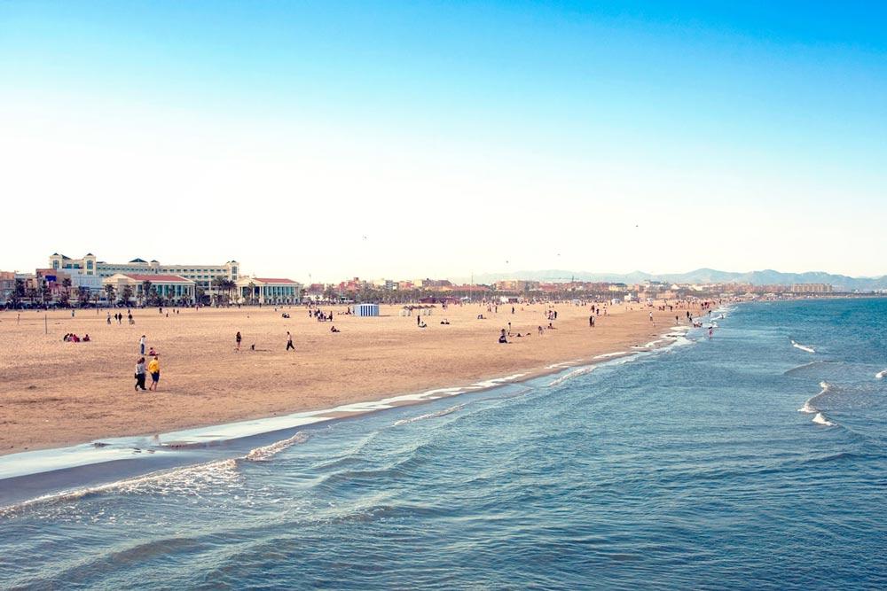 песочное побережье