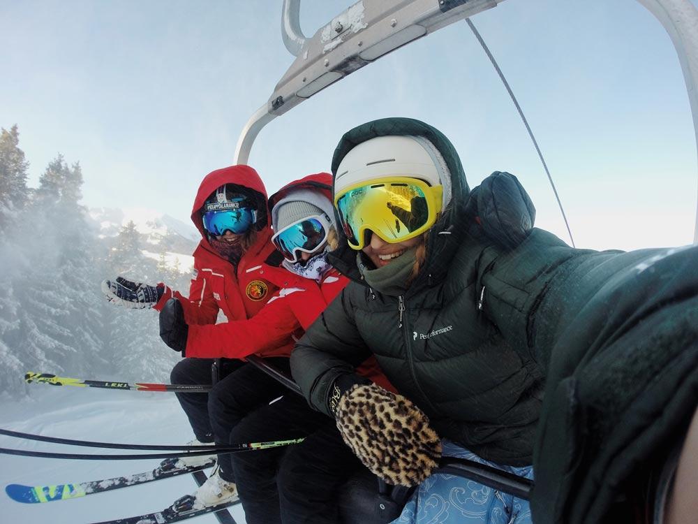отдых зимой на горнолыжных курортах