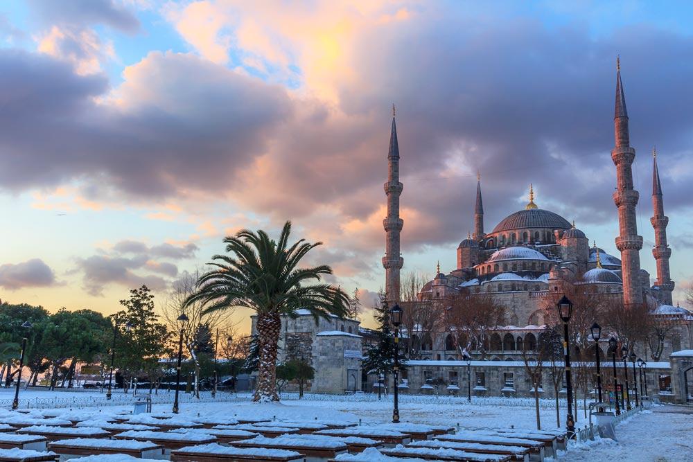 Поездка в Турцию в декабре