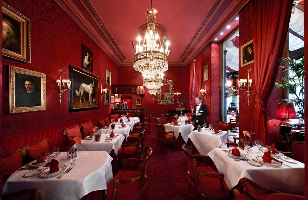 уютный ресторан в Вене