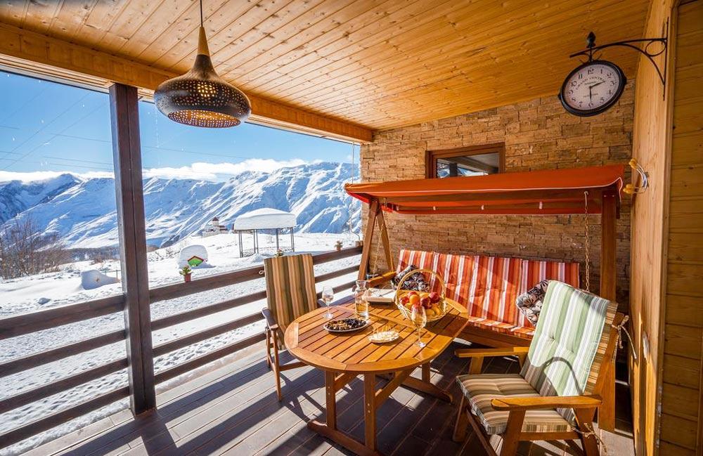 отели в горах Грузии зимой