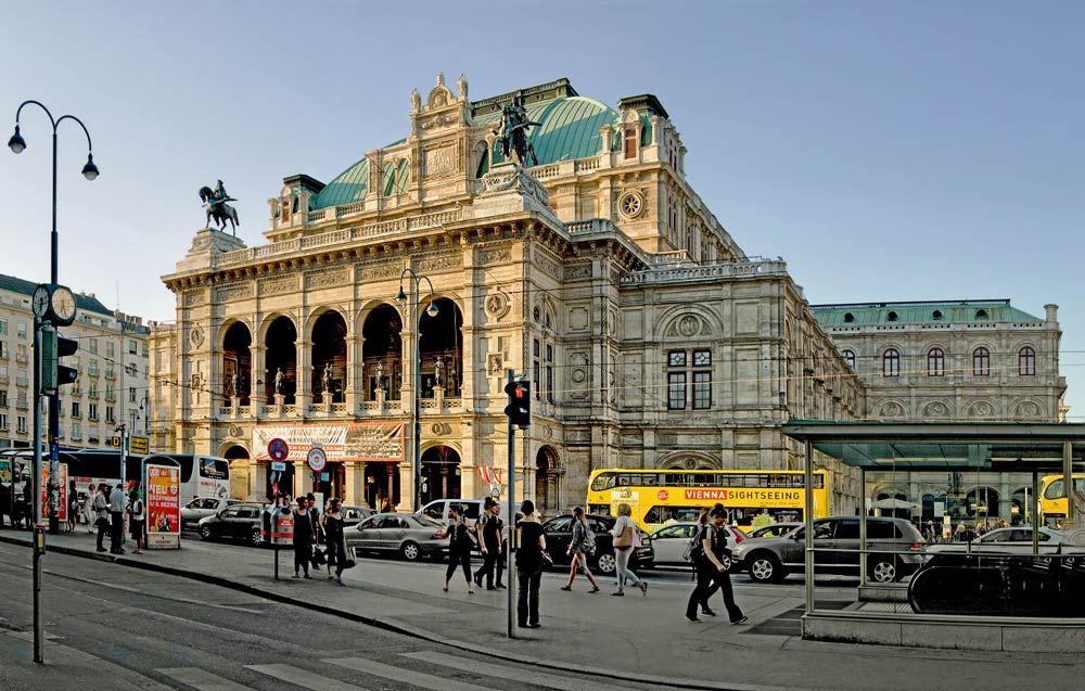 где погулять в Вене вечером