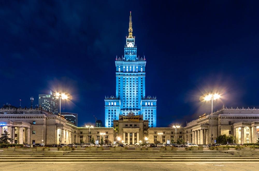 Фото достопримечательности Варшавы с описанием