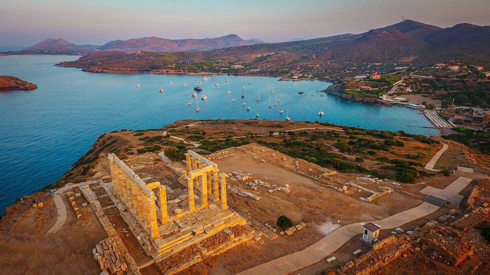 где проводить закат в Афинах