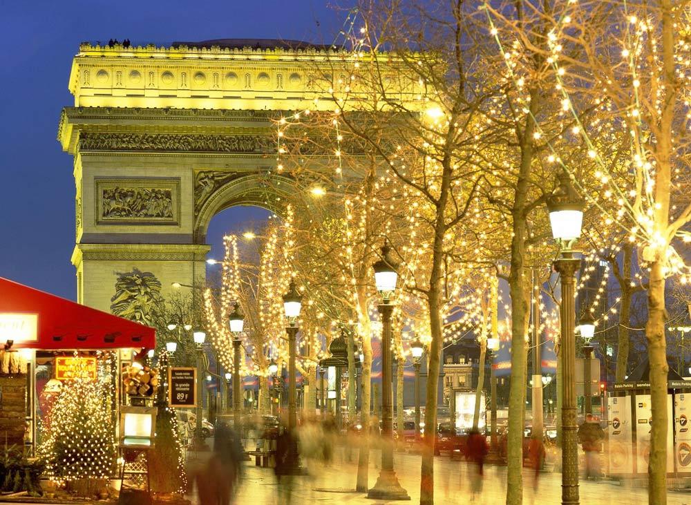Где побывать в Париже на новогодние выходные