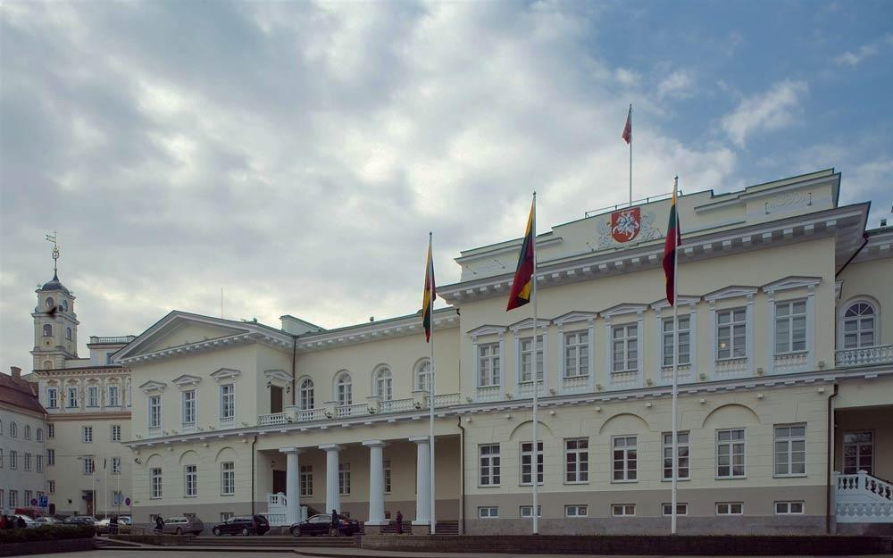 дворец президента Литвы