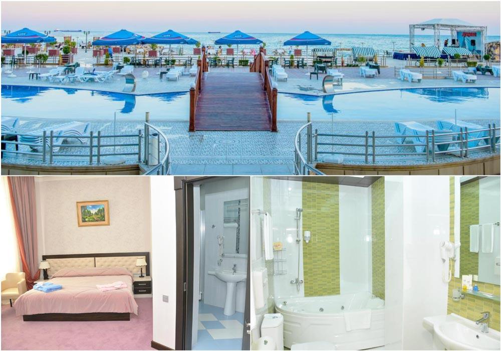 отель на первой пляжной линии
