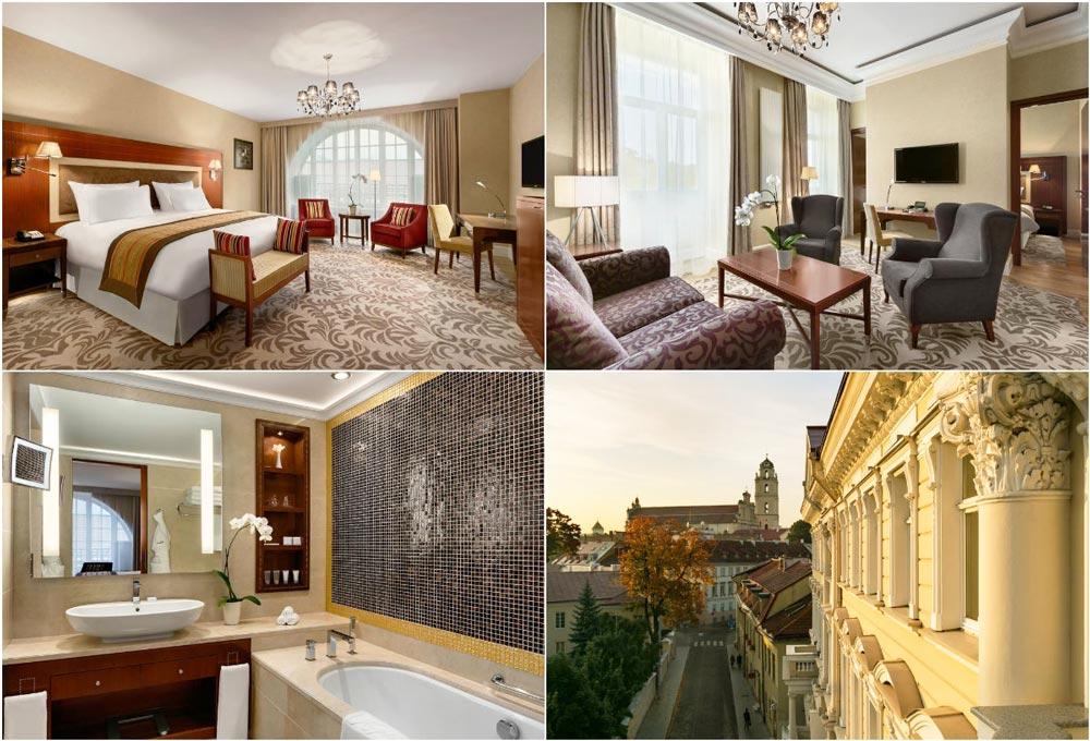 Лучшие отели Вильнюса 5 звезд в центре