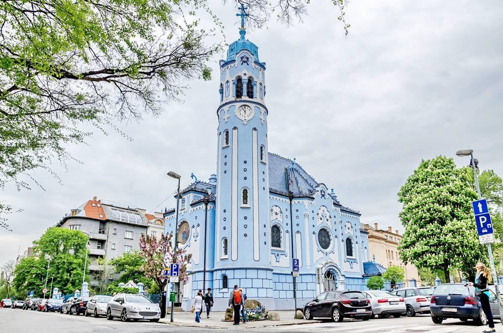 Маршрут прогулки по Братиславе