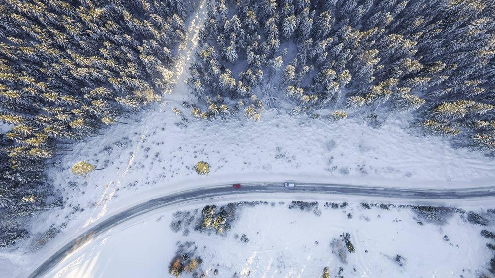 в финляндию на машине зимой