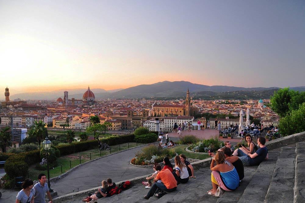 площадь Микеланджело