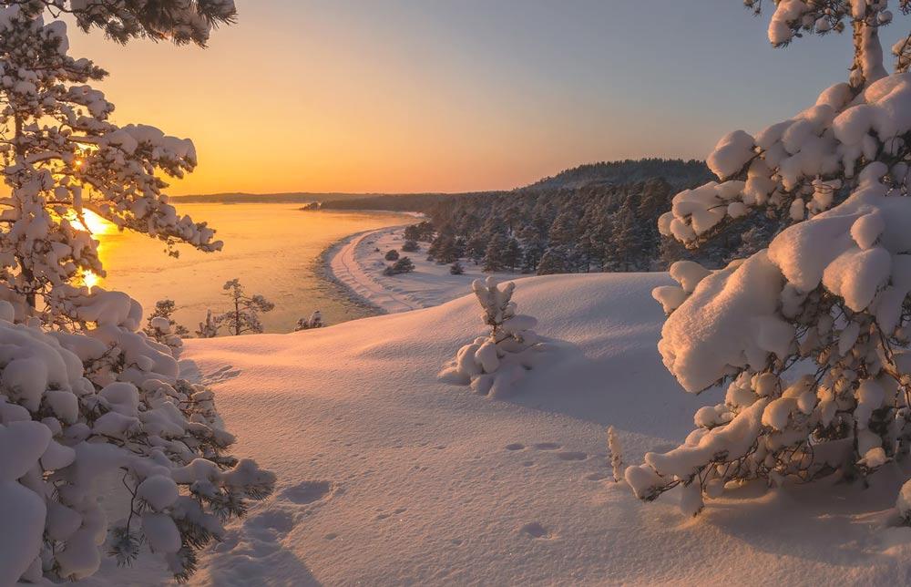 Картинки карелия зимой, спасибо что