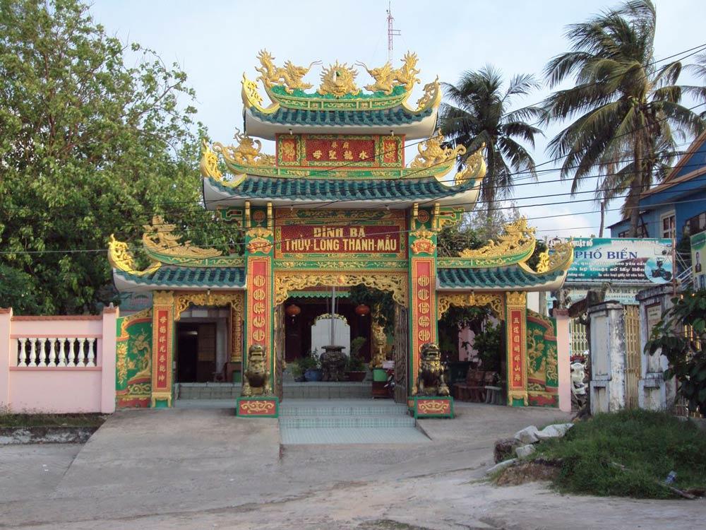 будийский храм