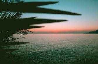 закат в Алании