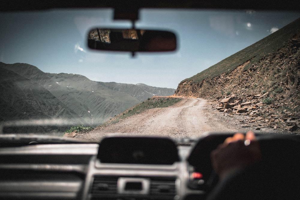 поездка в горы на машине