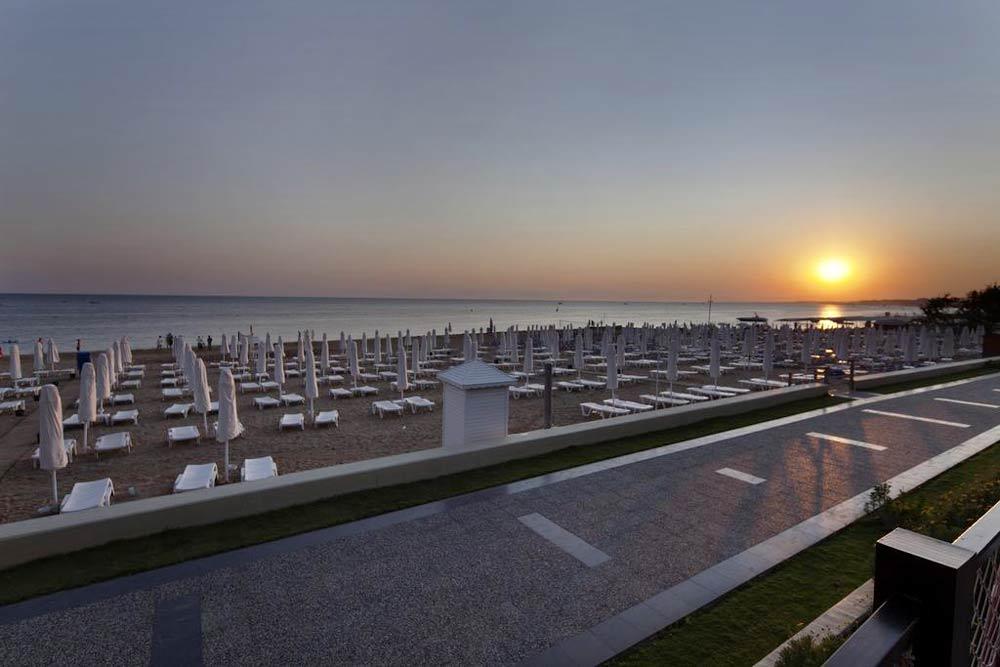 закат на море в Турции