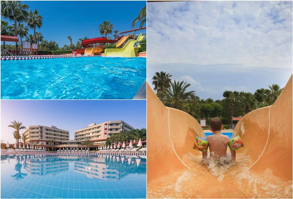 гостиницы Турции с большим бассейном