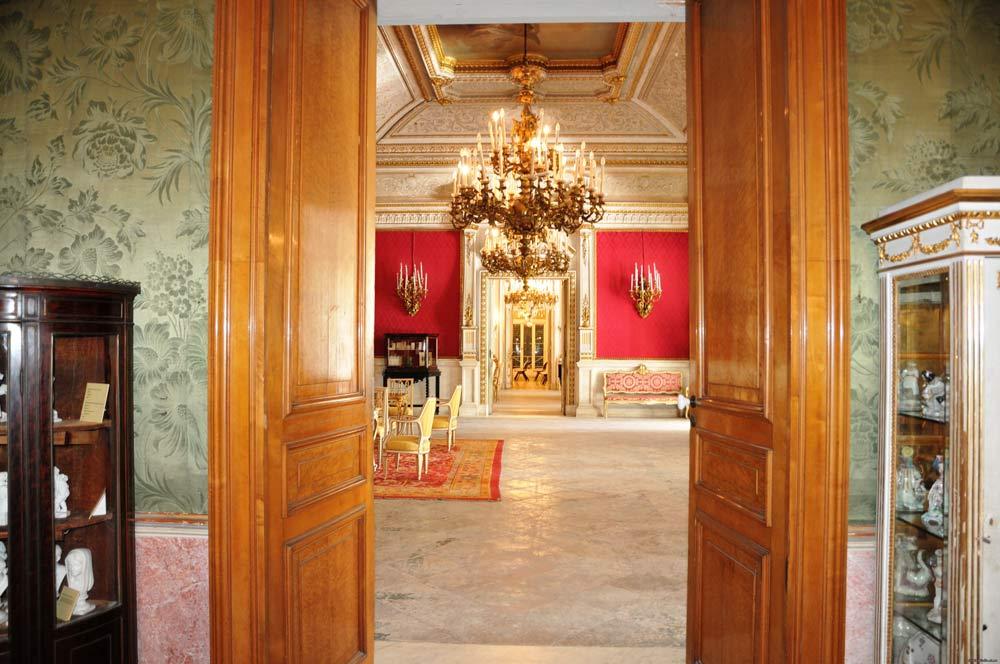 экскурсия во дворце