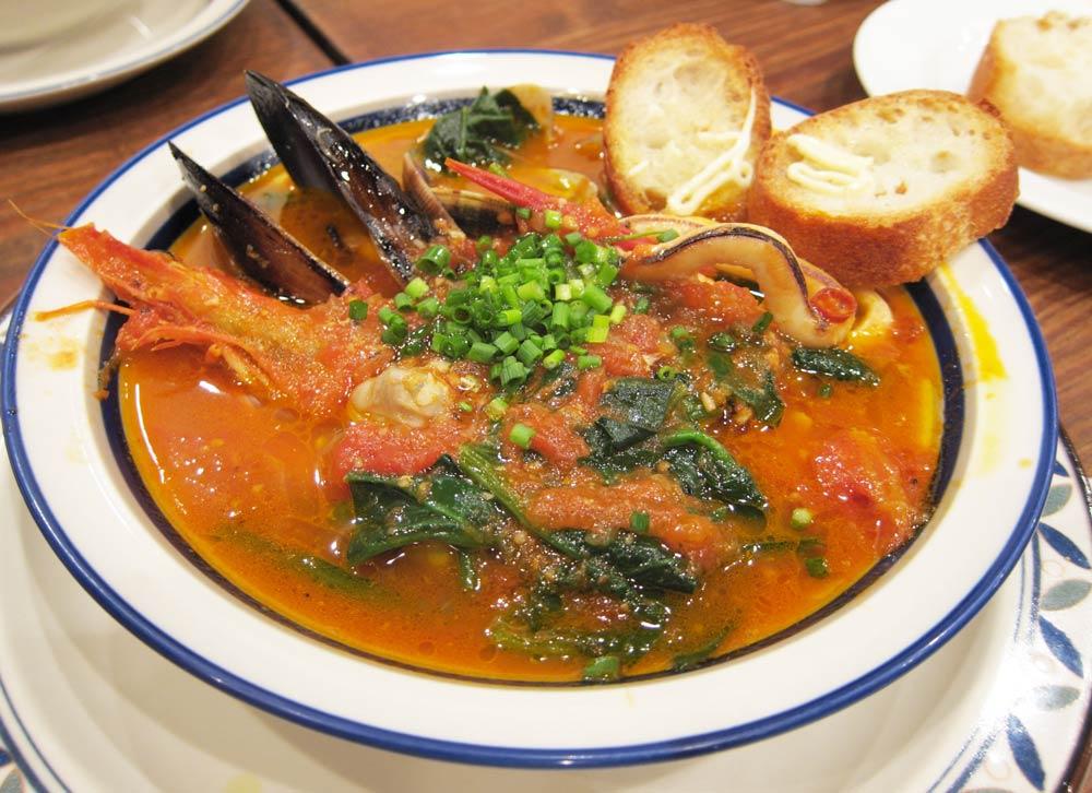 приготовления из морепродуктов