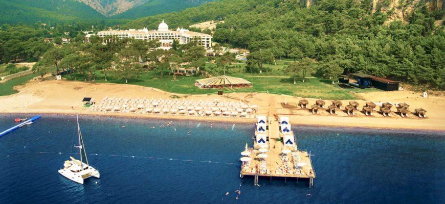 Хорошие отели Кемера с большой территорией на 1 линии