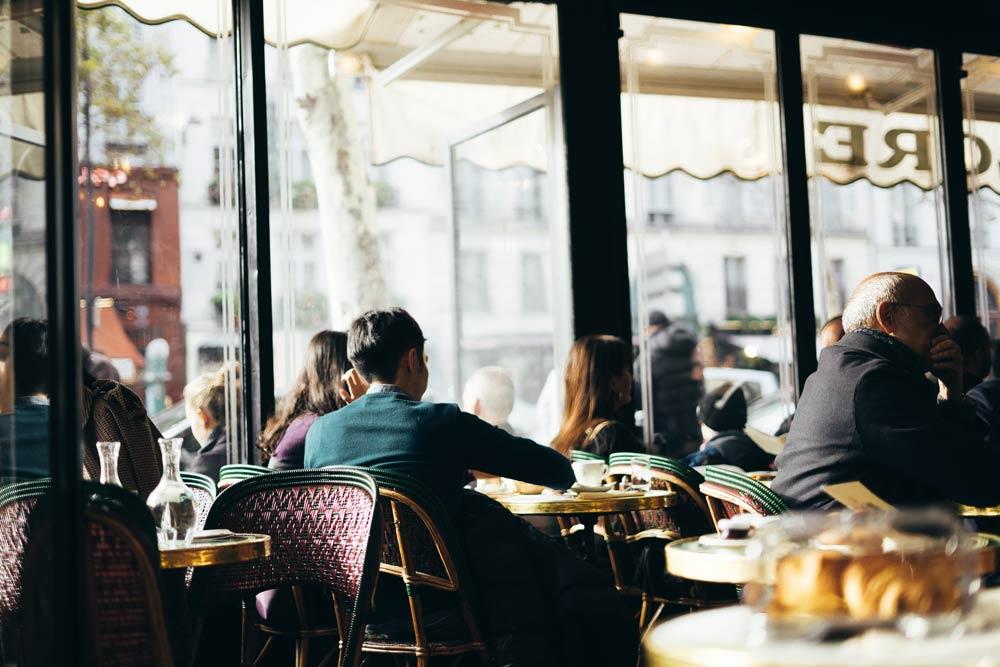 недорогие кафе Парижа