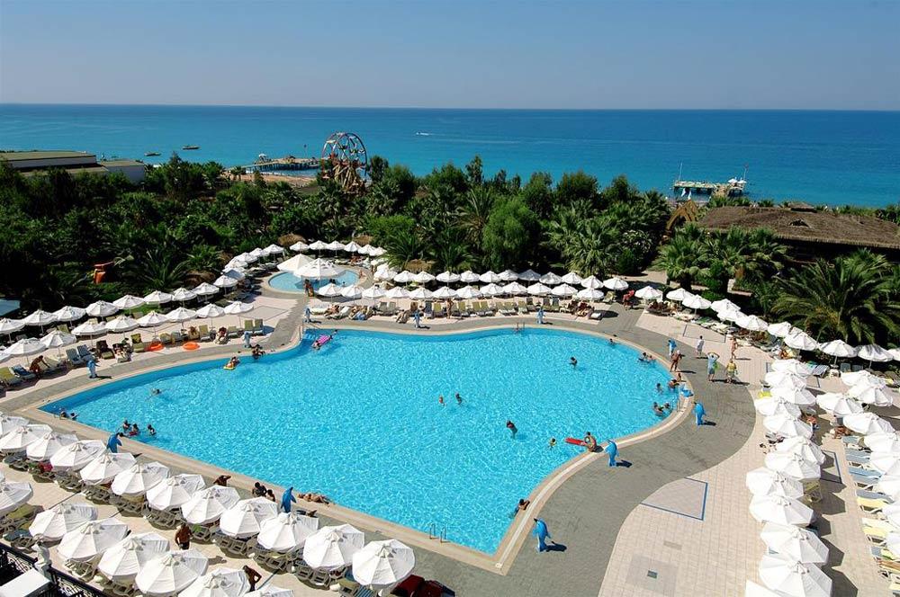 Отели Аланьи 4 звезды на 1 линии с собственным пляжем
