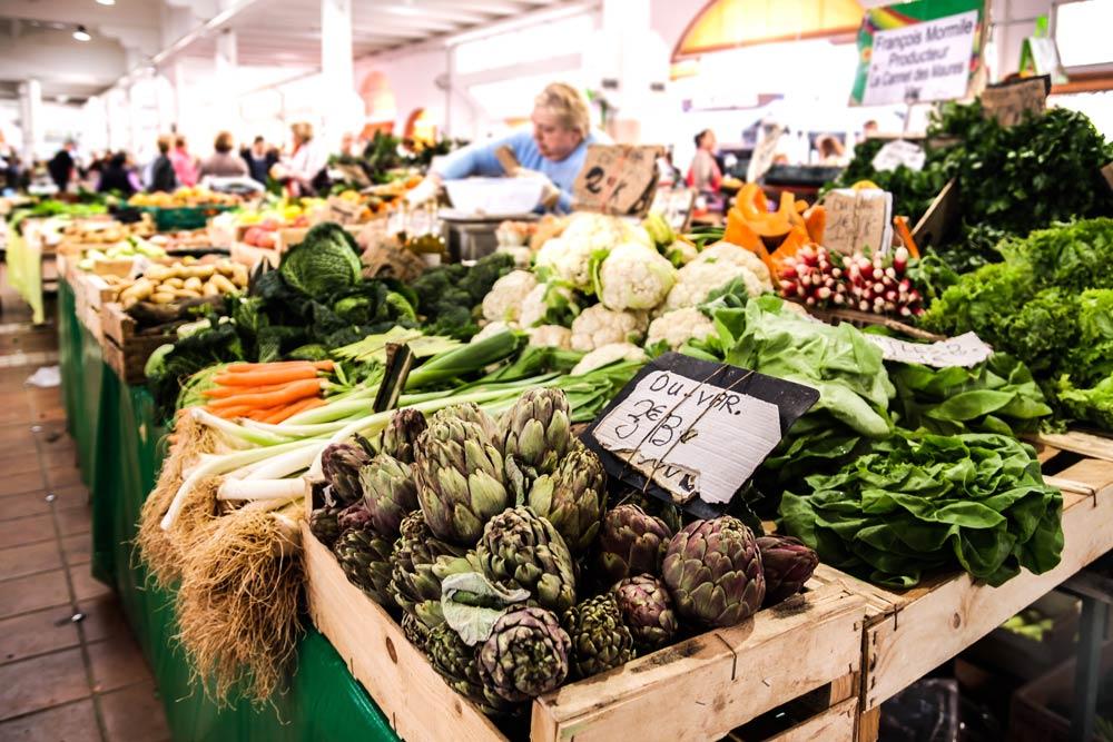 Цены на продукты во Франции