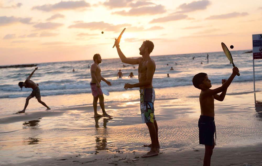 чем заняться на пляже в Израиле
