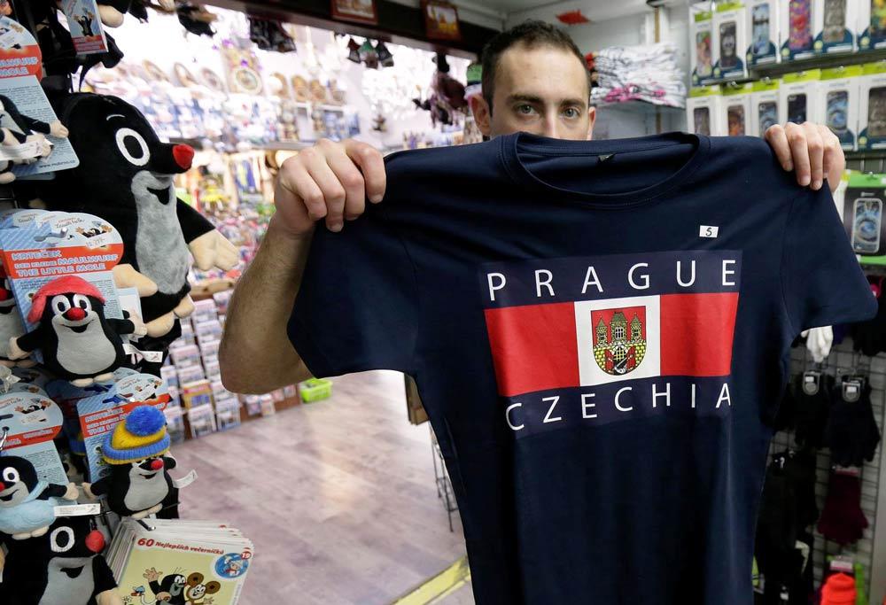 шоппинг в чешском магазине