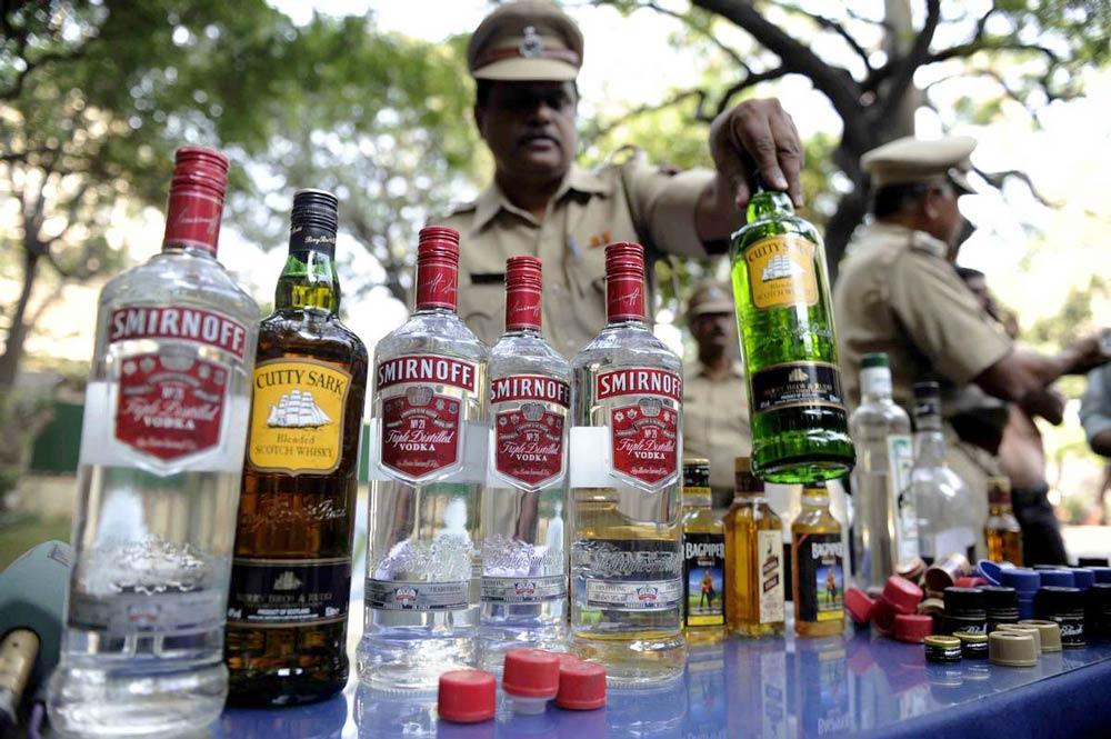 спиртное в Индии