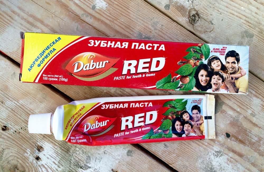 паста для зубов с добавлением чили