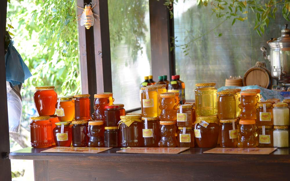мед местного производства