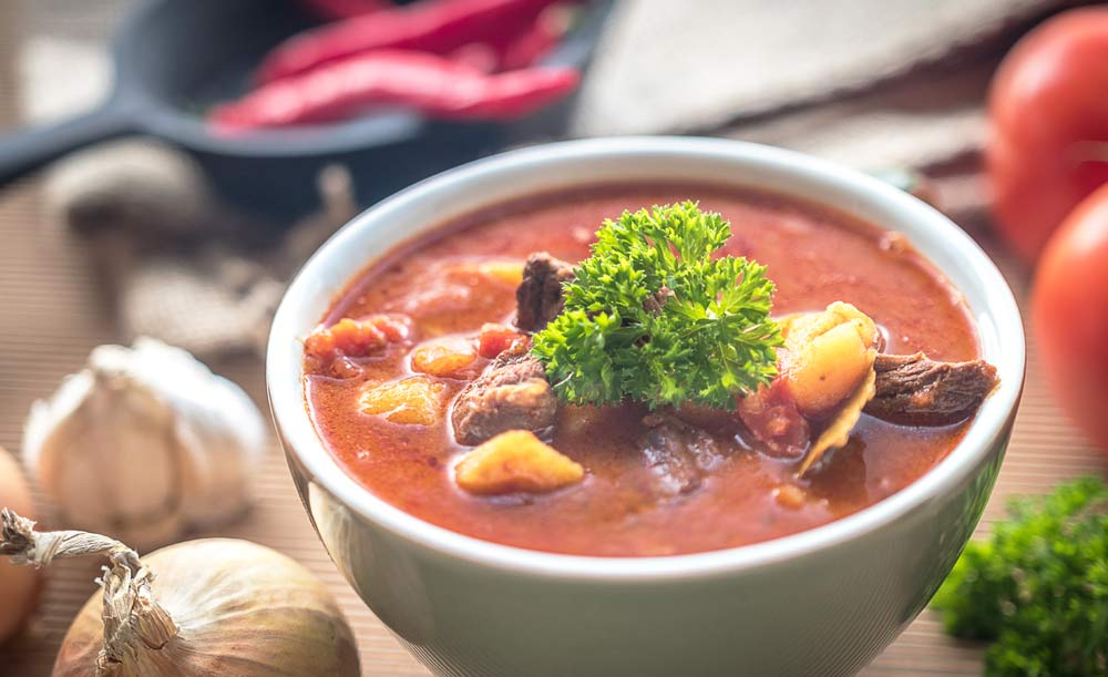 национальный суп в Чехии