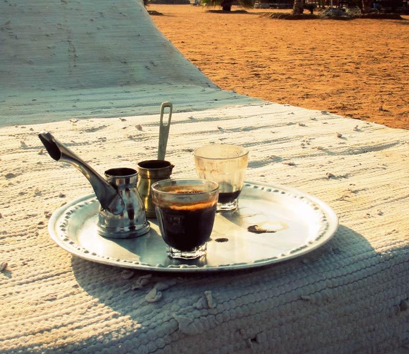 кофе в отеле