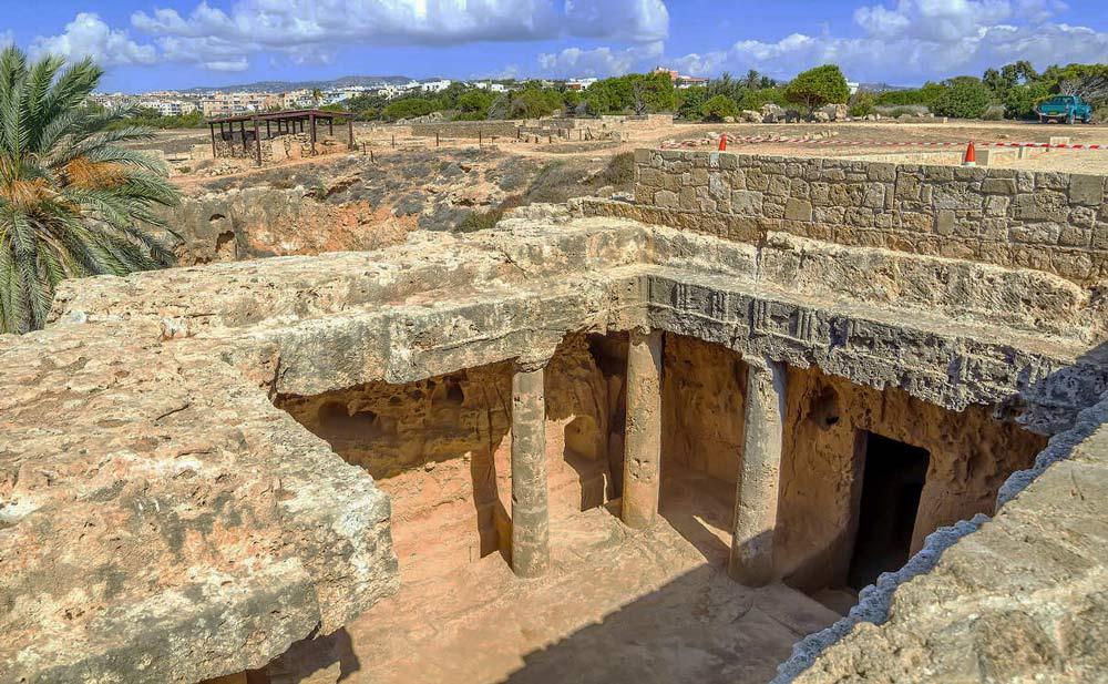 развалины Кипра