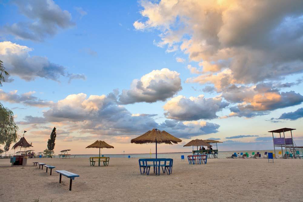 поездка в сентябре на Азовское море