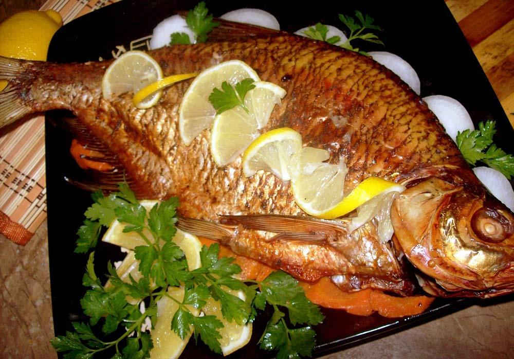 рыба на фритюре